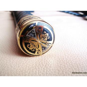 Нагайка подарочная со Златоустовской гравюрой