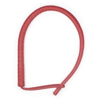 Плеть 8-ми полосная красная