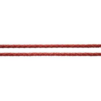 Шнурок кожаный  плетеный цветной