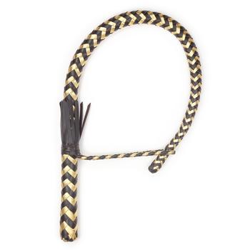 Нагайка Кобра 12 полосная коричнево-золотистая